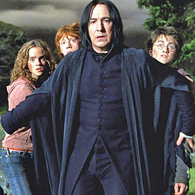 alan rickman harry potter and the deathly hallows. 2009 Harry Potter